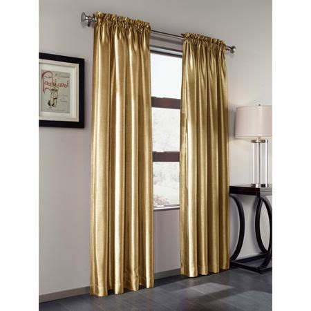silk curtain panels treasure faux silk curtain panel set of 2 walmart com