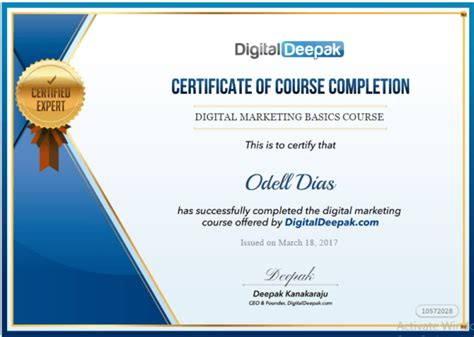 Digital Marketing Certificate Programs by 4 Free Marketing Courses With Certificates To Kick