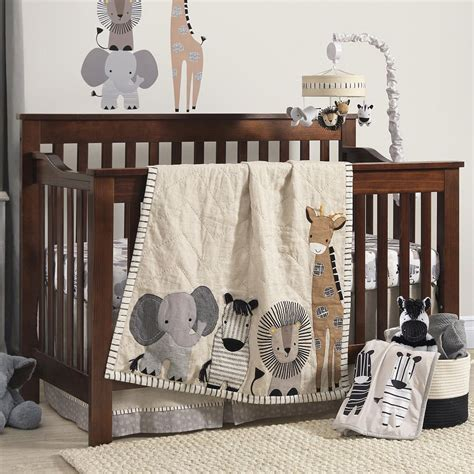 safari nursery bedding sets amazing cot bed bedding sets