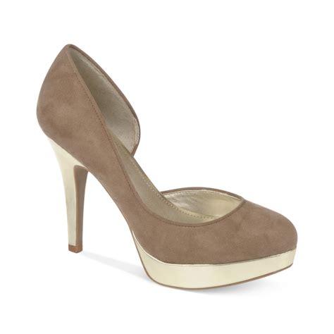fergie shoes fergie fergalicious shoes holler platform pumps in brown