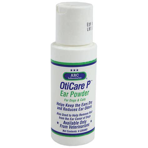 ear powder for dogs arc oticare p ear powder 6 gm