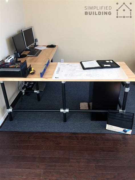 butcher block computer desk diy butcher block desk