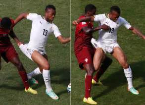 ayew wardrobe malfunction rachael edwards