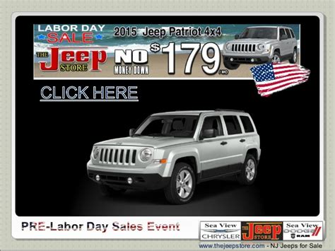 Jeep Dealerships In Nj New Jersey Jeep Dealership Labor Day Sales Event