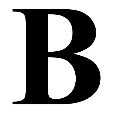 Letter B the letter b letters free sle letters
