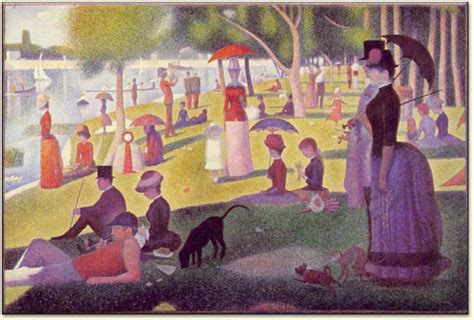 pointillism seurat s grande jatte and circus