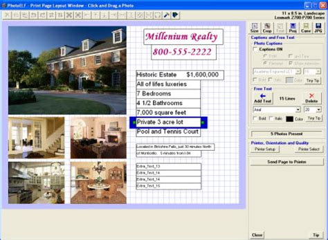photo layout and printing software photo printing software for the professional or home use
