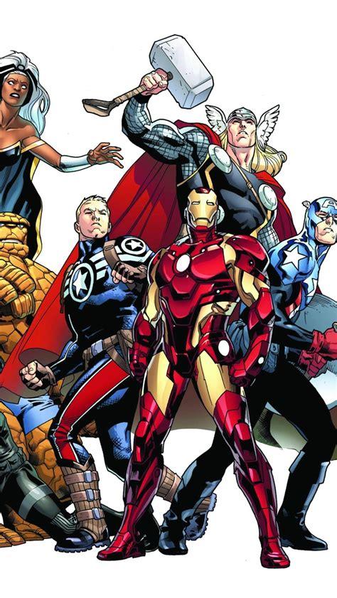 marvel heroes wallpaper iphone gallery