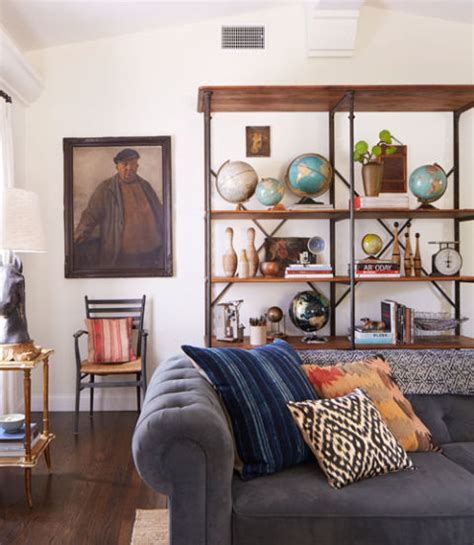 emily isles design space is a collector s paradise shana feste rustic california home emily henderson