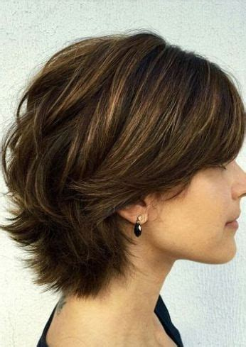 short haircuts with lift at the crown 25 best ideas about short layers on pinterest layered