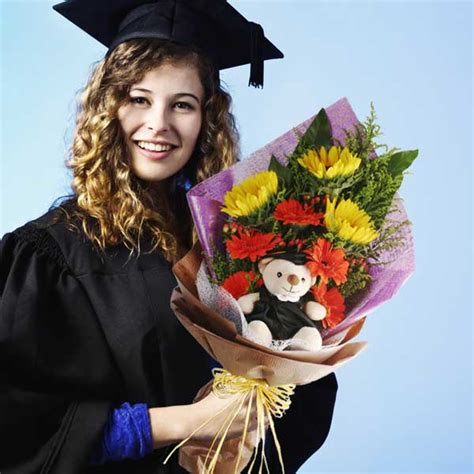 Graduation Flowers by Singapore Graduation Teddy Flowers Delivery