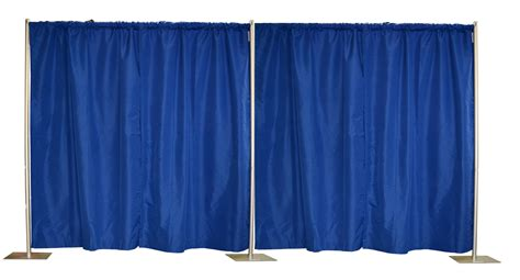 piping drapes crowd control center 10x20 inches pipe drapes step and