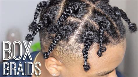 mens box braids hairstyles box braids tutorial mens tutorial travis scott asap