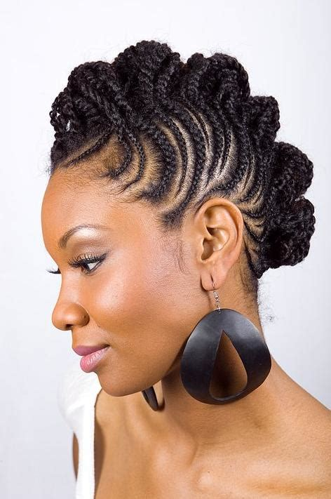 natural hair updo for 50 women 8 astounding short natural hairstyles for black women with
