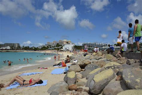 Caribbean Beach Adventure for the Daring Maho Beach in St