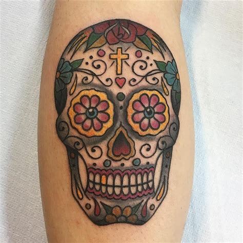 125 best sugar skull tattoo designs amp meaning 2018