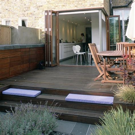 Different Decking Levels Garden Decking Ideas Small Garden Decking Ideas