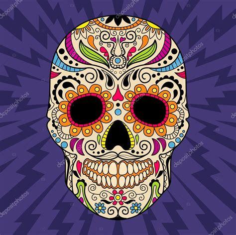 pinterest tattoo skull mexican calavera mexicana color vector de stock 169 topvectors