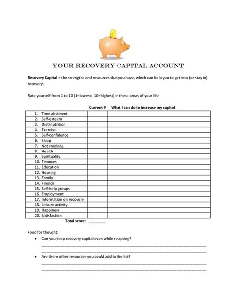 Pdf Facing Heartbreak Recovery Partners Addicts by Spirituality In Recovery Worksheets Pdf Psi