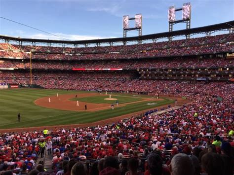section 162 a from section 162 row 26 picture of busch stadium saint