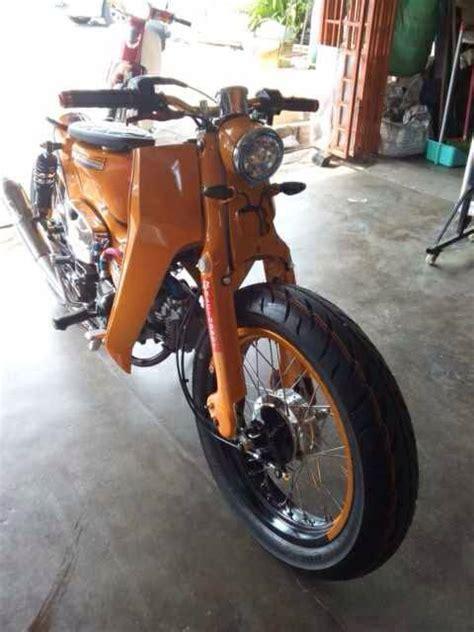 Limited Edition A 001 Kemben hondac70 streetcub 001 motomalaya