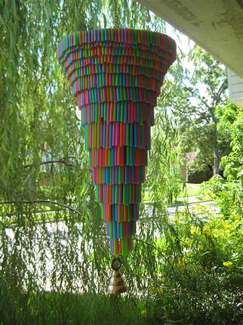 Home Decor Diys by 15 Ideas Of How To Recycle Plastic Straws Artistically