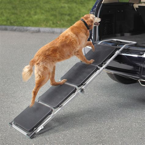 pet the the portable pet staircase or r hammacher schlemmer