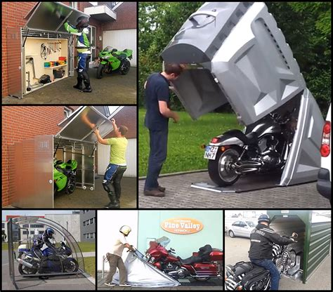Garage Storage Ideas For Motorcycles Motorcycle Storage Designs From Around The World Part 1