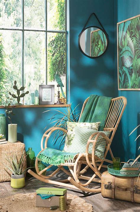 schlafzimmer jungle trend jungle aqua jungle maisons du monde