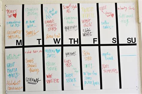 10 blog layout tips a beautiful mess blog post planning marker board a beautiful mess