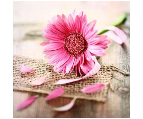 theme zen rose tableau toile cadre zen fleur rose sol loft filet en lin