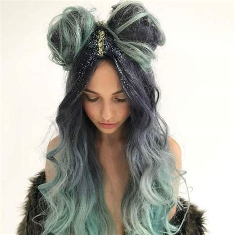 hair pictures long dip dyed hair tumblr