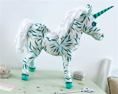 unicorn pattern sewing art gallery fabric unicorn toy free sewing patterns