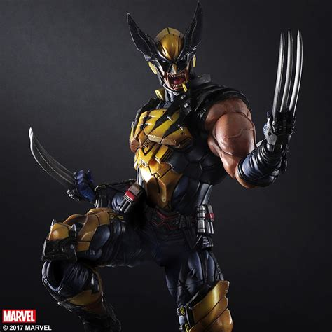 Coo Gadgets by Play Arts Kai Wolverine Action Figure Mightymega