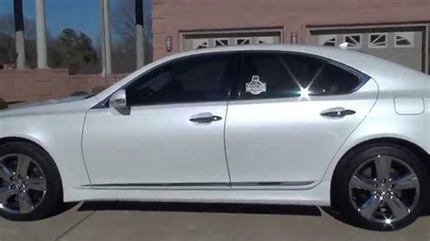 L On Sale by Hd 2012 Lexus Ls 460 Pearl White Sport For Sale See