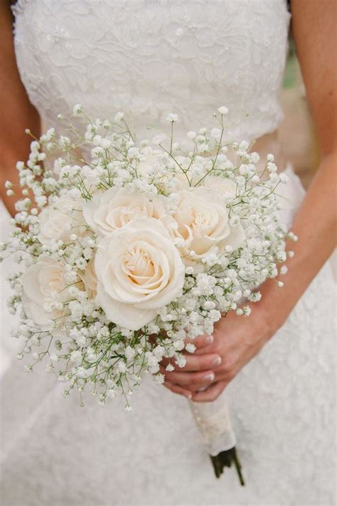Wedding Bouquet Baby S Breath by Wedding Flowers 32 Baby S Breath Wedding Ideas Oh Best