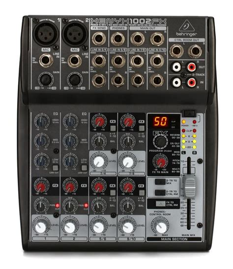 Mixer Behringer Xenyx 1002fx behringer xenyx 1002fx mixer with effects sweetwater