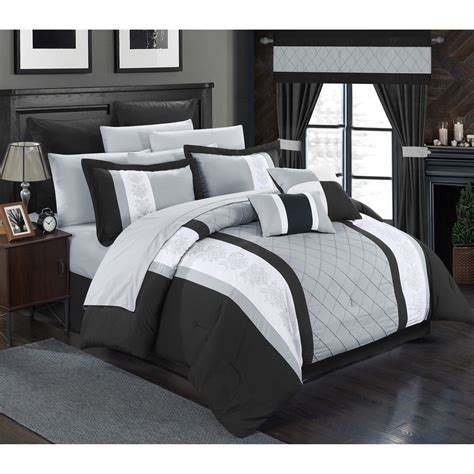 24 pc comforter set chic home danielle 24 piece comforter set reviews wayfair