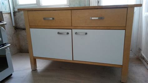 Freestanding Kitchen Furniture Ikea Varde Kitchen Units Sirdar Road House Clearance