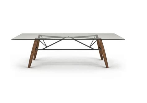 connection up collection large glass top table
