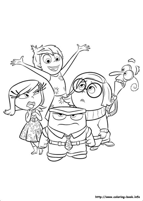 coloring pages inside out wagon coloring pages for kids inside out coloring picture meet the counselor