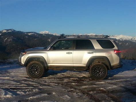 Toyota 4runner Clearance Clearance Height With Lift Tires And Gobi Stealth Rack