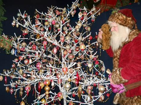 cotton wrapped tree picture of national christmas center