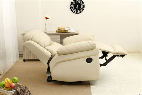electric real leather auto recliner armchair
