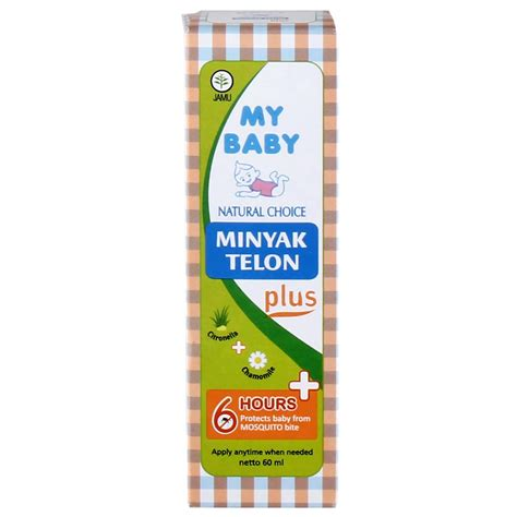 B26 My Baby Minyak Telon Plus 60ml jual my baby minyak telon plus 60ml prosehat