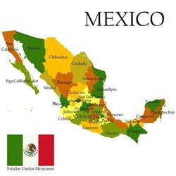 Mexican States Map by Location Of Playa Del Carmen Playadelcarmen Org
