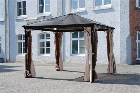 pavillon aluminium pavillon lodge aluminium mit seitenteilen pavillon