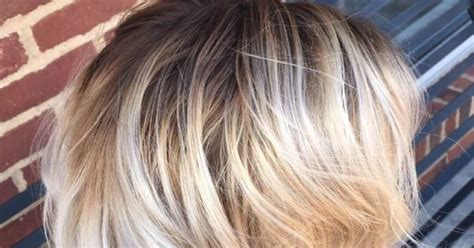 perfect shadow root on blonde hair icy blonde with a perfect shadow root blondes