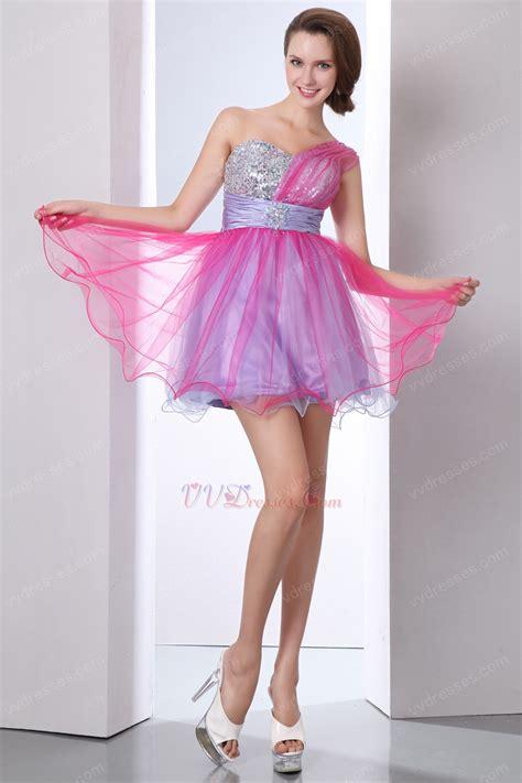 Dress Sweet Pink lovely one shoulder pink sweet 16 dress discount