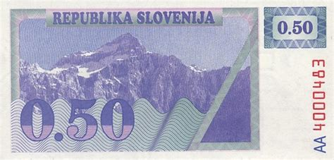 Tolar by Exchange Your Obsolete Money From Slovenia Slovenian